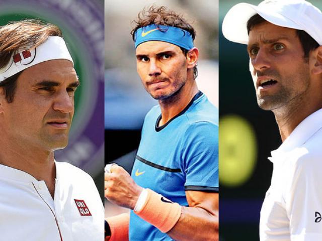 """Tam hoàng tennis: Nadal """"hận"""" sinh cùng thời Federer - Djokovic"""