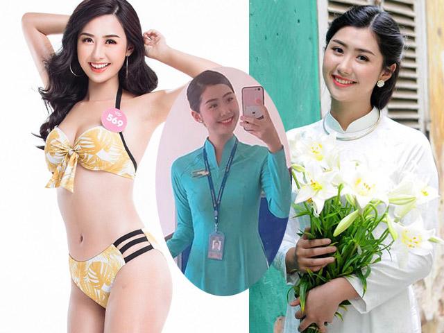 """Tiếp viên hàng không thi Hoa hậu Việt Nam: Được Nhật trao danh hiệu """"công chúa"""""""