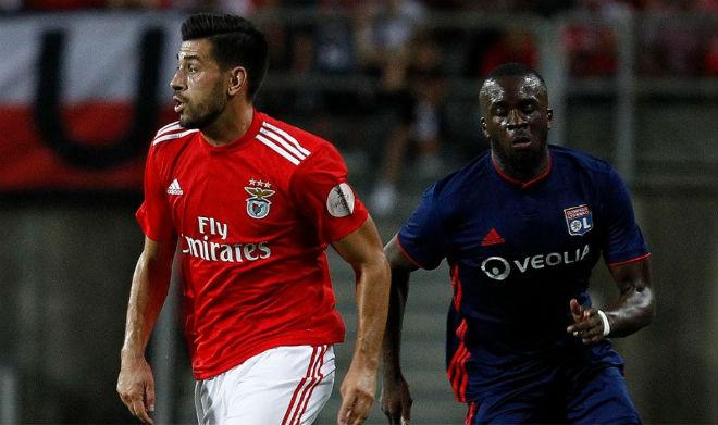 Benfica - Lyon: Đại tiệc 5 bàn cao trào kịch tính - 1