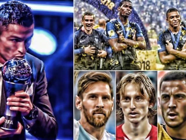 Cầu thủ hay nhất FIFA 2018: Modric 750 triệu euro đe dọa Ronaldo – Messi