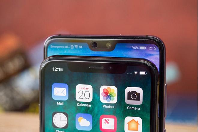 """Apple và Huawei dẫn đầu xu hướng smartphone kèm màn hình """"tai thỏ"""" - 1"""