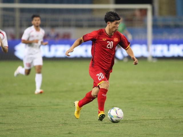 """Trực tiếp U23 Việt Nam - U23 Palestine: Công Phượng, Anh Đức khiến Mỹ Đình """"mở hội"""""""