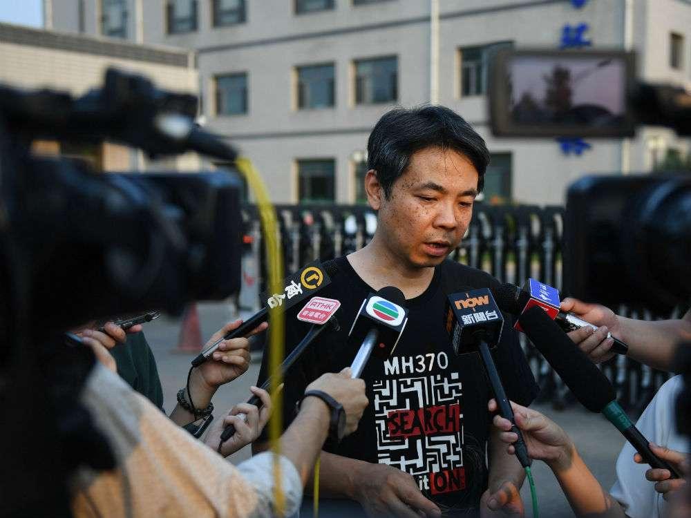 Người thân Trung Quốc phẫn nộ vì bản báo cáo MH370 - 1