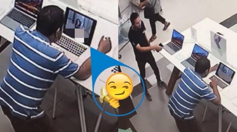 Thái Lan: Vào cửa hàng máy tính, thản nhiên bật phim khiêu dâm xem - 1