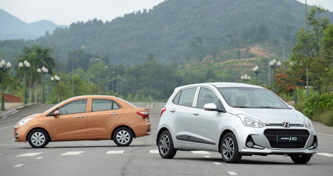 Giá xe Hyundai cập nhật tháng 9/2018: Grand i10 giá đề xuất từ 330 triệu đồng - 1