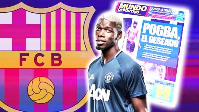 Chấn động: Pogba đã chọn số áo Barca, MU muốn nhận tiền kèm Rakitic - 1