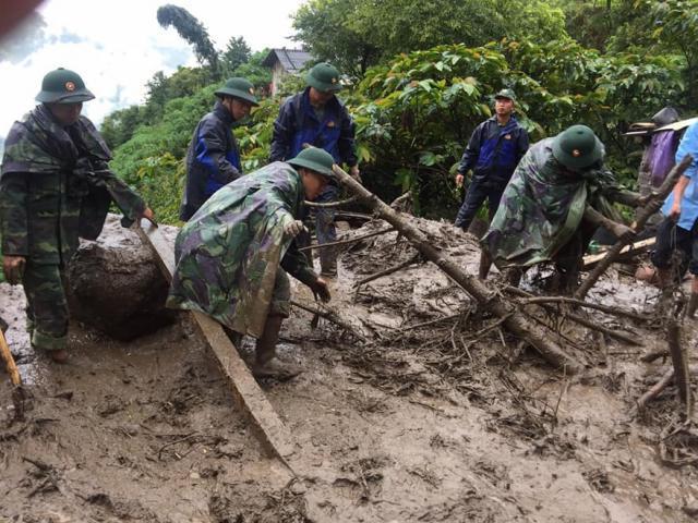 Sạt lở đất kinh hoàng ở Lai Châu: Đã tìm thấy thi thể 5 nạn nhân