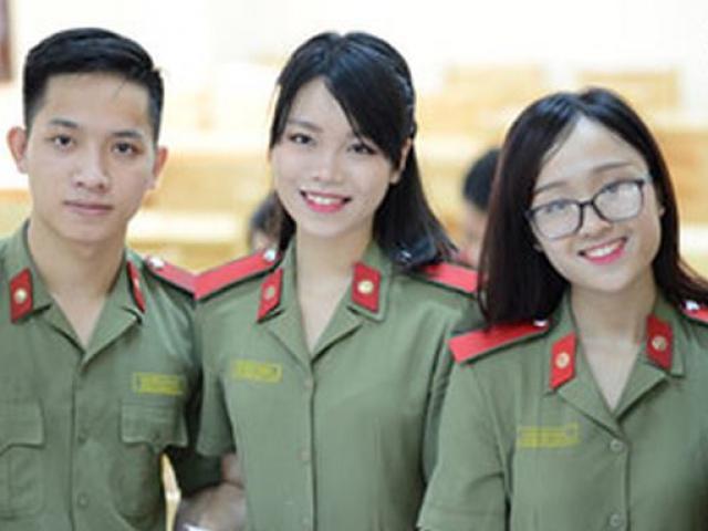 Học viện cảnh sát và học viện an ninh công bố điểm chuẩn