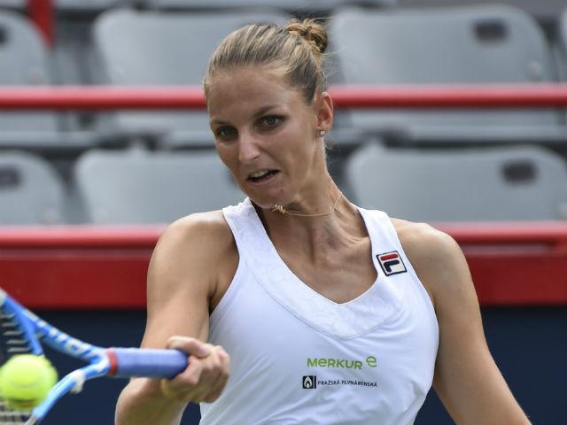 """Rogers Cup ngày 1:  """"Hoa khôi"""" Pliskova đi tiếp, Raonic đè bẹp hạt giống"""