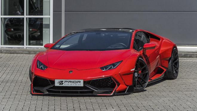 """Lamborghini Huracan cực """"ngầu"""" với gói độ thân rộng của Prior Design - 1"""