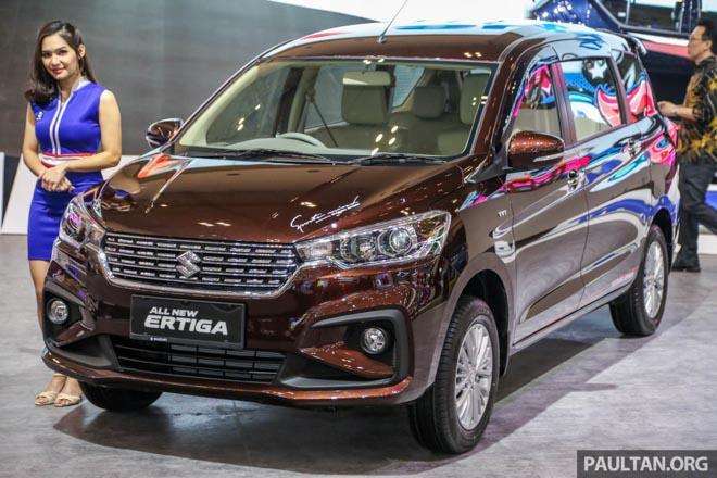 Ảnh thực tế Suzuki Ertiga 2018 vừa ra mắt tại Indonesia - 1