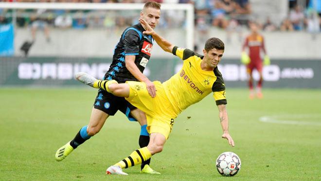 Dortmund - Napoli: Sắc sảo ra đòn, cựu SAO Real kết liễu - 1