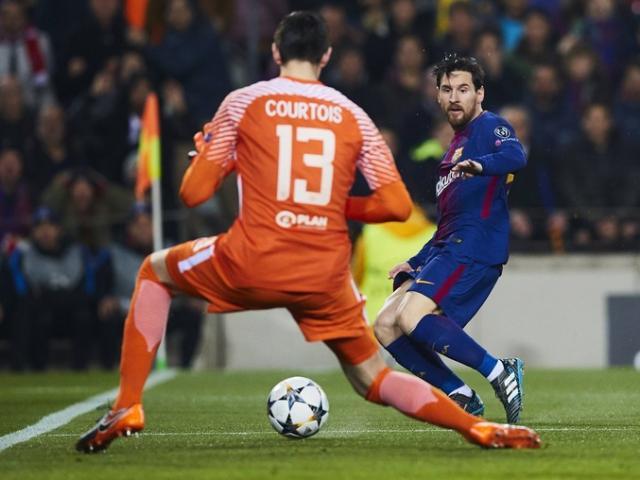 """Real có """"bom tấn"""" Courtois: Messi sướng rơn gặp lại kẻ hay bị """"bắt nạt"""""""