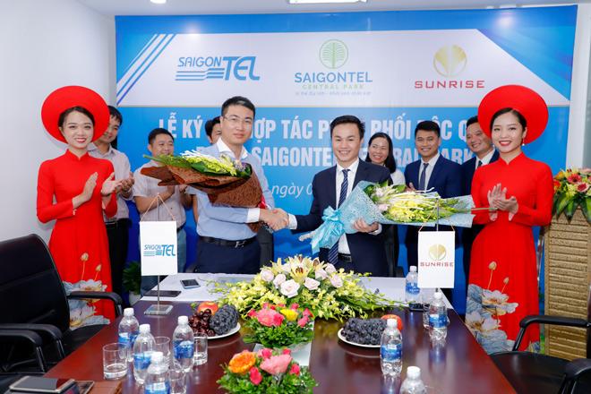 Saigontel và Sunrise ký kết hợp tác phân phối độc quyền dự án Saigontel Central Park - 1