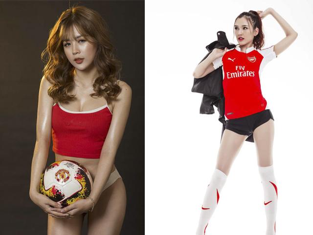"""Dàn hot girl bóng đá Việt """"đại chiến"""" trước thềm khai màn Ngoại hạng Anh"""