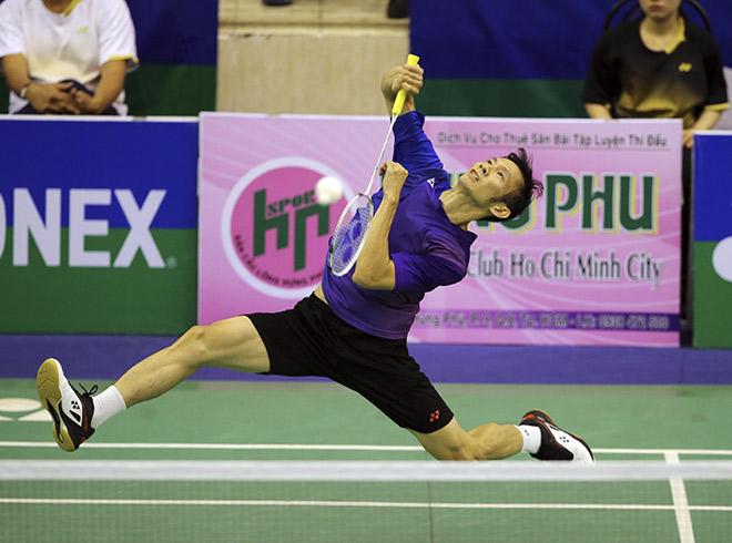 Giải cầu lông tiền tỷ: Tiến Minh đập cầu như máy, bạt vía nhà vô địch quốc tế - 1