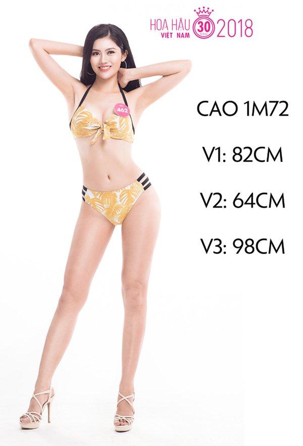 Bí quyết vòng ba 98 cm của người đẹp Hải Phòng thi Hoa hậu Việt Nam - 1