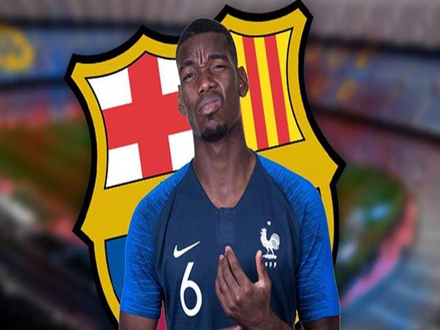 """Ngỡ ngàng """"bom tấn"""" Pogba - MU: Mourinho trị loạn, sếp Barca ra đòn hiểm"""