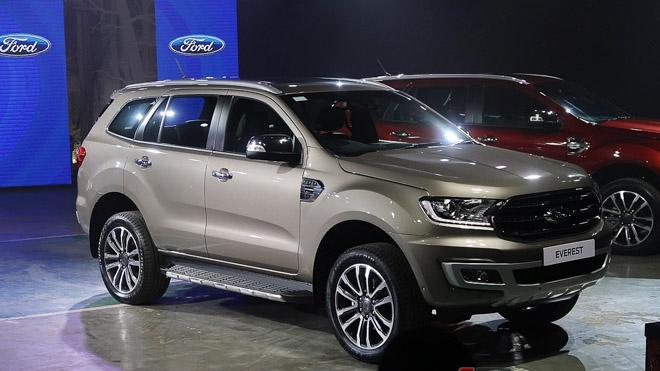 Ford Everest 2018 mới sẽ ra mắt Việt Nam vào ngày 29/8 - 1