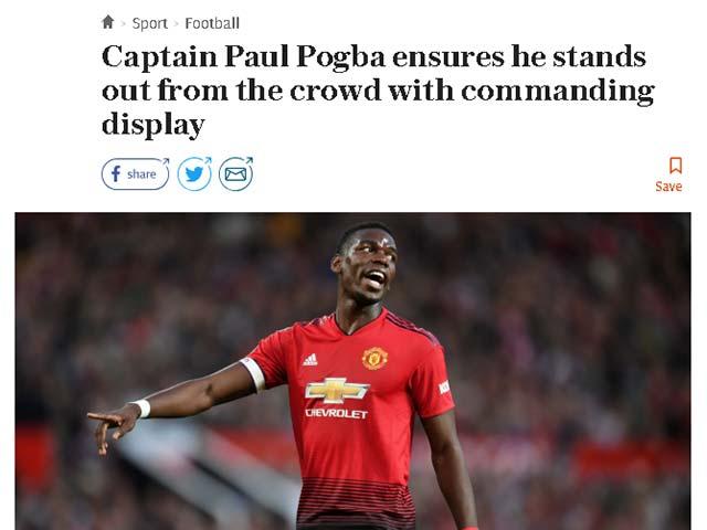 MU ra quân như ý: Báo Anh cực lực khen Pogba, Fred có biệt danh mới