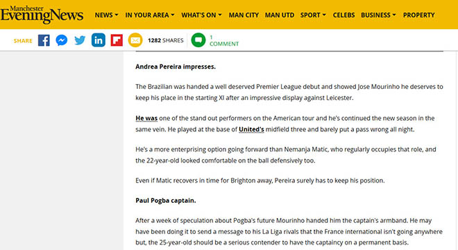 """MU ra quân như ý: Báo Anh mê """"cánh chim lạ"""", vẫn không tin Mourinho - 1"""