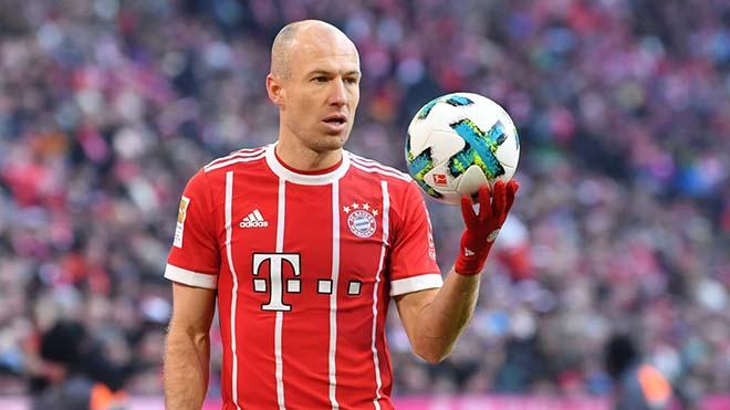 Tin HOT bóng đá tối 11/8: Robben tính hồi hương từ giã sự nghiệp - 1