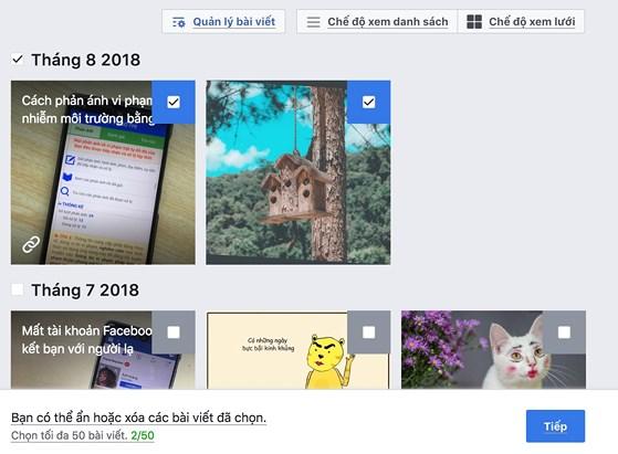 Cách xóa dữ liệu Facebook nhưng giữ lại tài khoản - 1