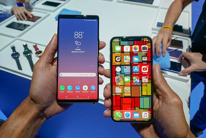 Người dùng chủ yếu quan tâm đến điện thoại từ Samsung và Apple - 1