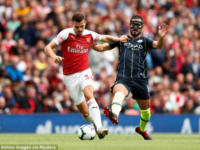 Trực tiếp Arsenal - Man City: Sterling độc diễn mở tỷ số
