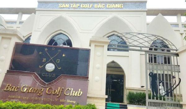 Bắc Giang báo cáo việc cho mượn đất công viên làm sân tập Golf - 1