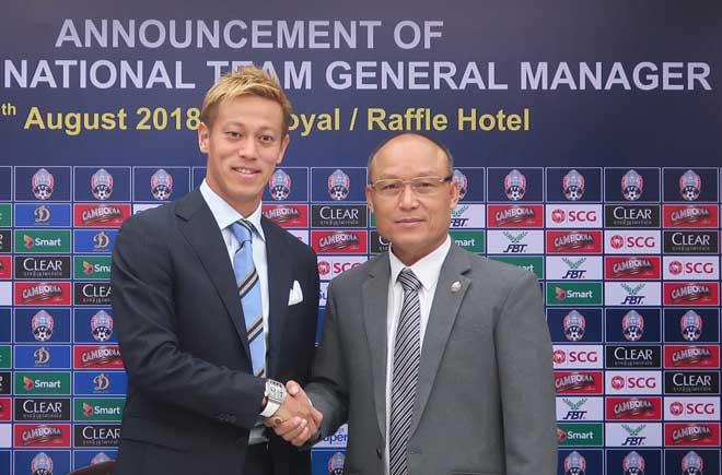 Tin HOT bóng đá tối 12/8: Keisuke Honda bất ngờ làm HLV Campuchia - 1