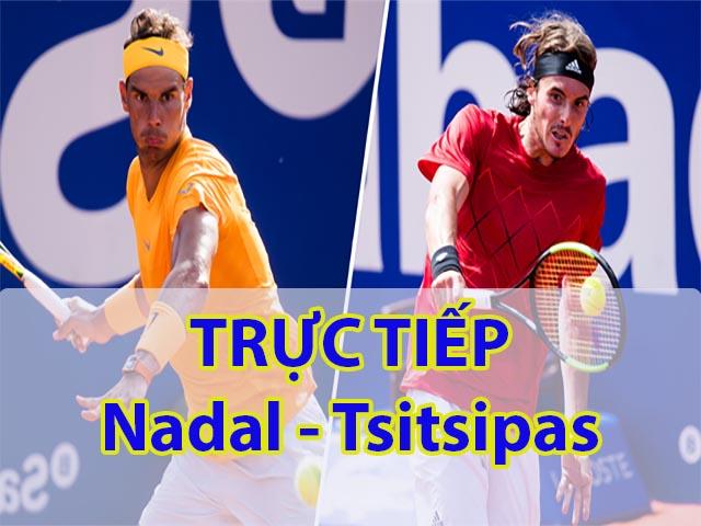 Trực tiếp tennis Nadal – Tsitsipas: Kỷ lục mới gọi tên ai? (Chung kết Rogers Cup)