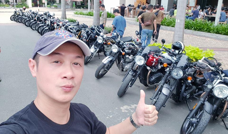 """MC Anh Tuấn VTV khoe """"người tình"""" sang chảnh cùng dàn xe siêu khủng - 1"""