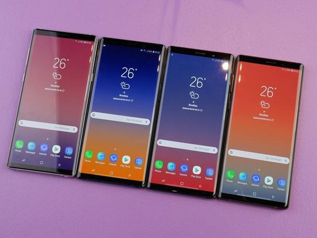 Samsung tự tin về doanh số bán hàng Galaxy Note 9