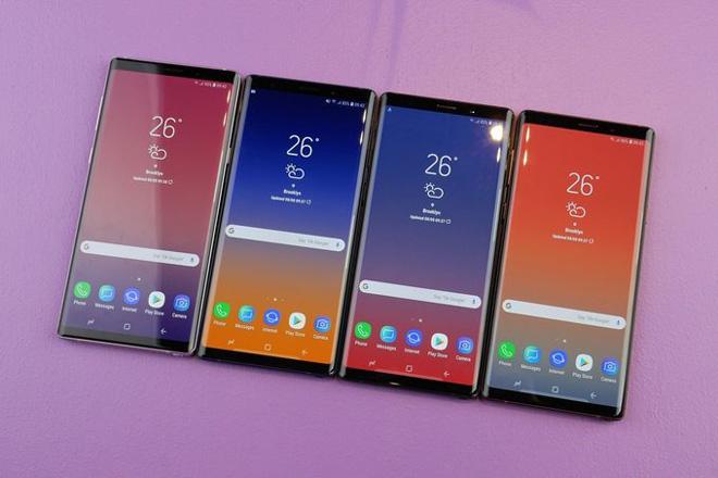 Samsung tự tin về doanh số bán hàng Galaxy Note 9 - 1