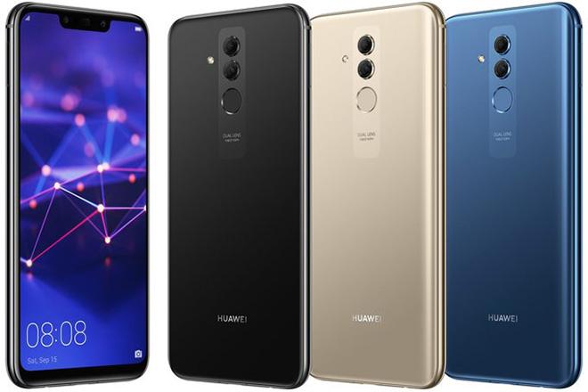 Huawei Mate 20 Lite lộ 3 màu mới, liệu có đẹp bằng Nova 3i? - 1