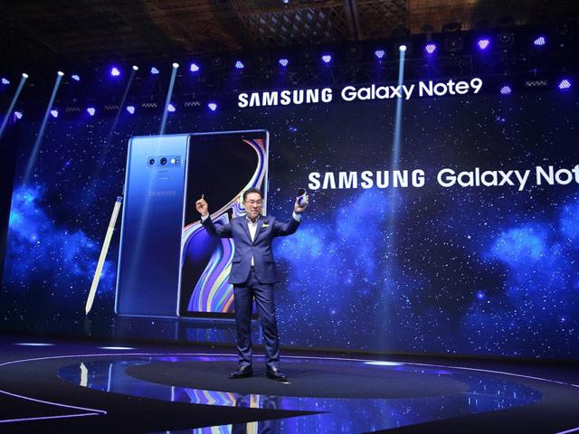 Những niềm tự hào xuyên suốt lễ ra mắt Galaxy Note9 tại Việt Nam