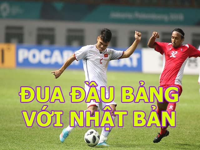 Trực tiếp ASIAD U23 Việt Nam - U23 Nepal: Anh Đức đánh đầu mở tỷ số