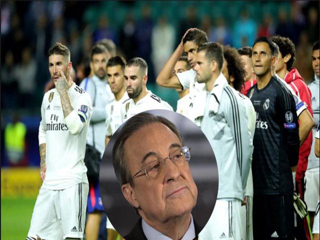 """Real hụt Siêu cúp châu Âu: Sai lầm của """"ông trùm"""", điểm yếu chết người"""