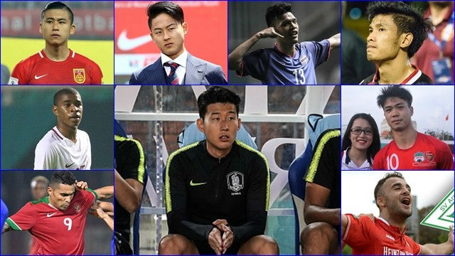 U23 VN gây bão ASIAD: Công Phượng sánh vai Son Heung Min lọt top 9 SAO hay nhất - 1