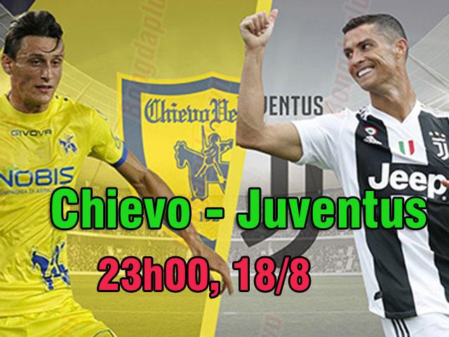 """Chievo – Juventus: """"Siêu nhân"""" Ronaldo ra sân, chờ đại tiệc mở màn"""