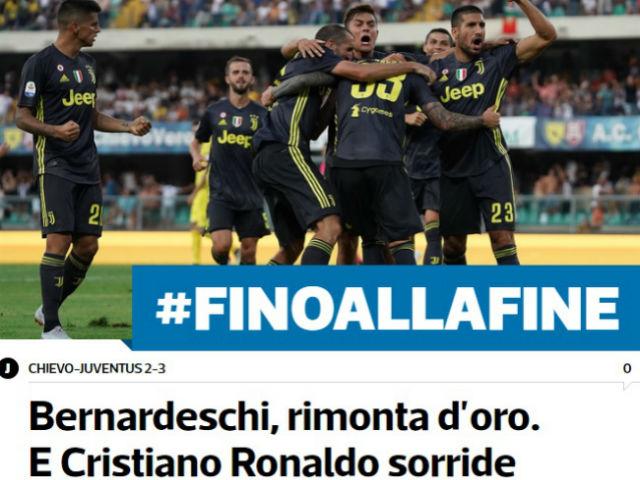 Ronaldo ra mắt Juventus tịt ngòi: Như phim kinh dị, báo Ý nuông chiều