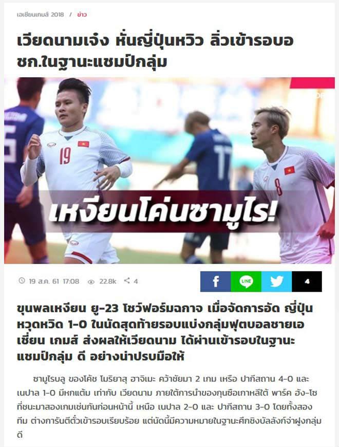 U23 Việt Nam đỉnh cao, Thái Lan vực său: Báo Thái hành động cực lạ - 1