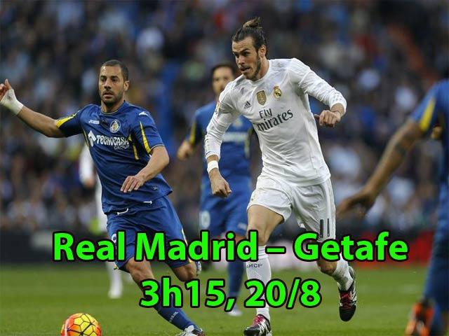 Real Madrid – Getafe: Gạt nỗi nhớ Ronaldo mà sống (Vòng 1 La Liga)