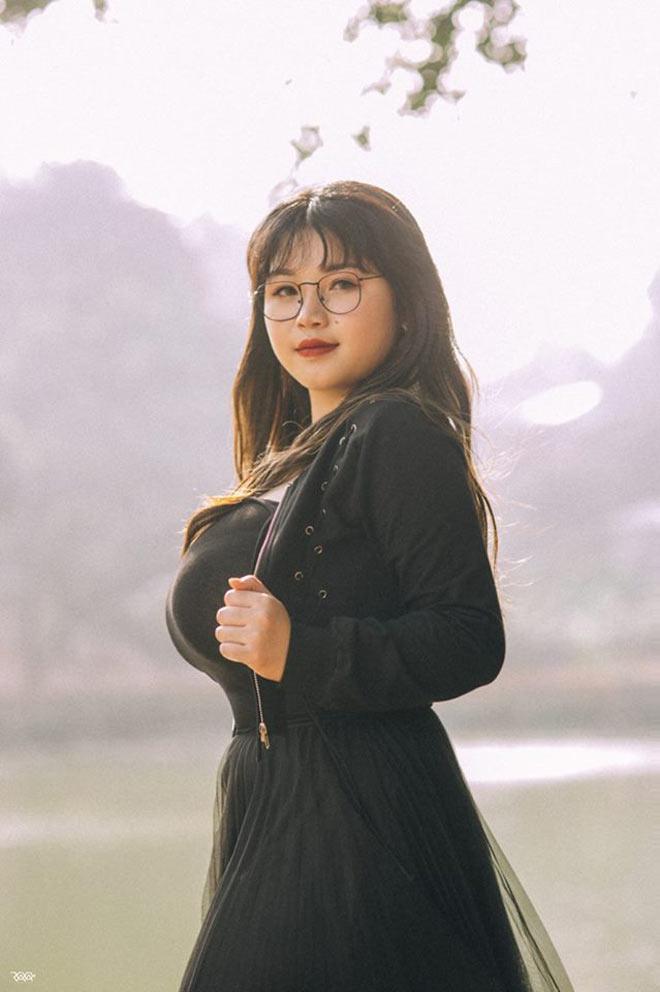 Cô gái Hải Dương sở hữu vòng một 110cm chia sẻ bất ngờ về bạn trai - 1
