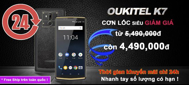 """24 giờ cuối xả kho"" smartphone pin 10.000mAh, Ram 4G giảm giá 1 triệu - 1"