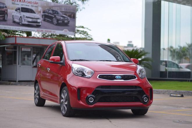Giá xe Kia Morning cập nhật tháng 8/2018 - 1