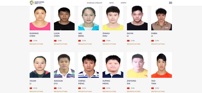 """Chấn động cử tạ Trung Quốc bị cấm thi đấu ASIAD: Dính án doping vẫn cố """"vượt rào"""" - 1"""