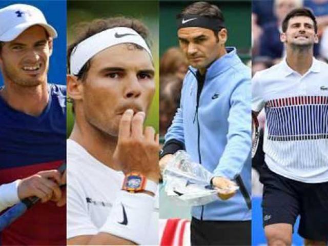 """Phân nhánh US Open: """"Big Four"""" hội tụ, Federer """"hẹn"""" đòi nợ Djokovic"""