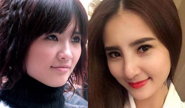 Bên cạnh cuộc sống riêng nhiều thăng trầm, nhan sắc của Khánh Chi cũng đổi khác rất nhiều so với thời điểm mới gia nhập showbiz.